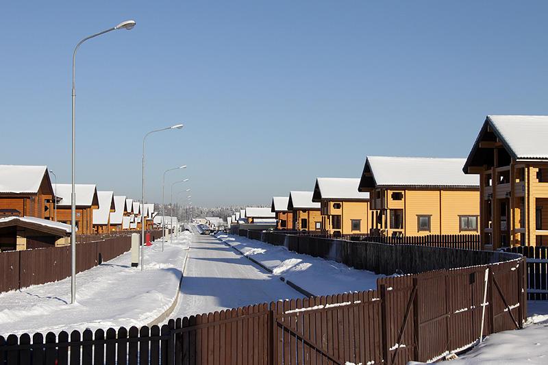 Коттеджный посёлок  «Брусландия» по адресу Московская обл, Истринский р-н, Ермолинское нп в 25.5км от МКАД предложения по цене от 8 500 000 руб.