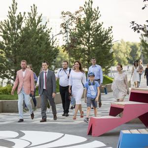 Главный архитектор Москвы открыл набережную «Ривер Парка»