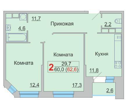 Планировки дом 16