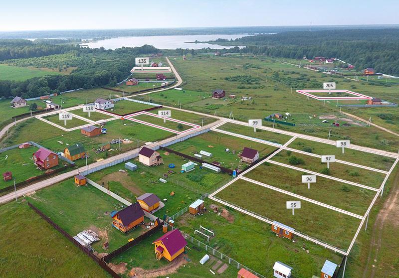 Коттеджный посёлок  «Заповедное озеро» по адресу Московская обл, Клинский р-н, Дятлово д в 82км от МКАД предложения по цене от 219 000 руб.