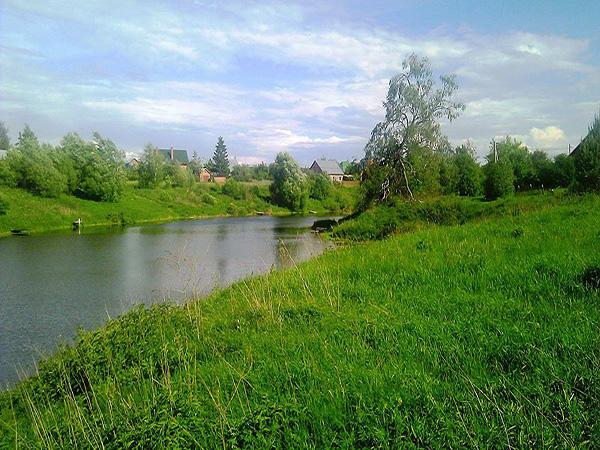 поселок киевский рыбалка